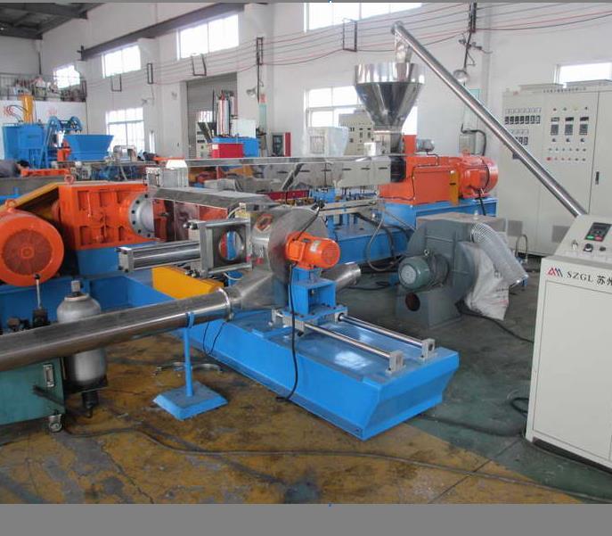 無紡布pp回收造粒機_PP高填充母料造粒設備配方