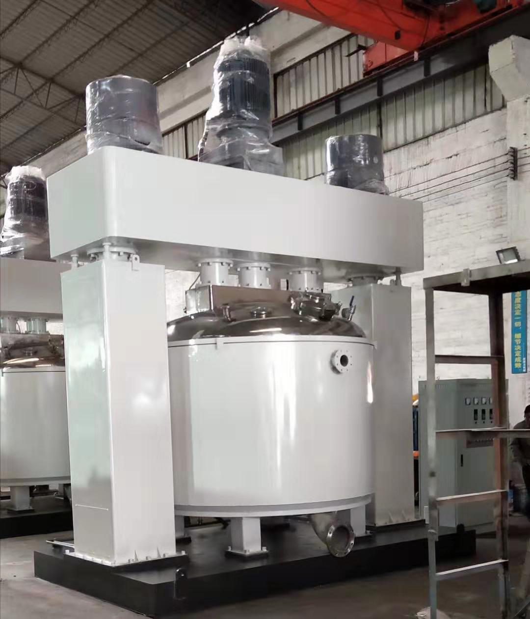 硅酮胶强力分散机化工设备