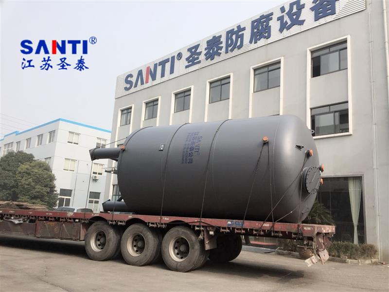 钢衬塑储罐供应 立式化工酸碱储罐