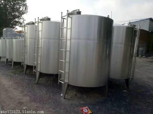 出售全新白酒类不锈钢储罐、储存罐