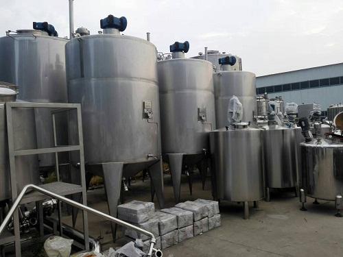 订做20吨不锈钢搅拌罐、电加热搅拌罐