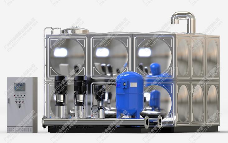 广州浩雄XWS箱式无负压供水设备价格