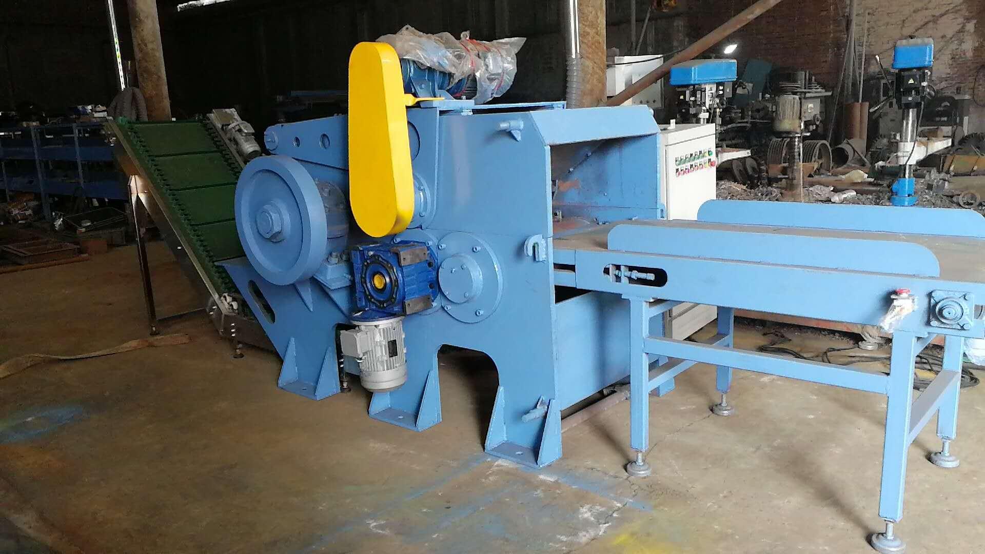 厂家直卖高产量塑钢带铁破碎机