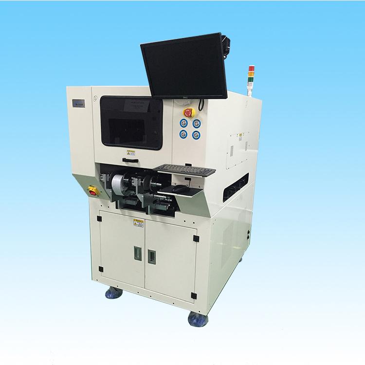 全自动单轨贴标机 PCB电路板贴标机 smt在线高速贴标机