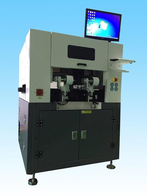 ATM-300Y2新一代超高速輔料背膠機 在線異形貼標機 攝像頭貼膜機