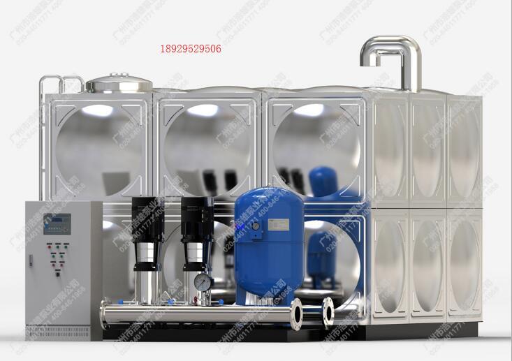 全自动增压泵_BWS箱式变频恒压供水设备