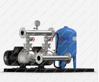 全自动自来水增压泵ECM卧式变频恒压供水设备
