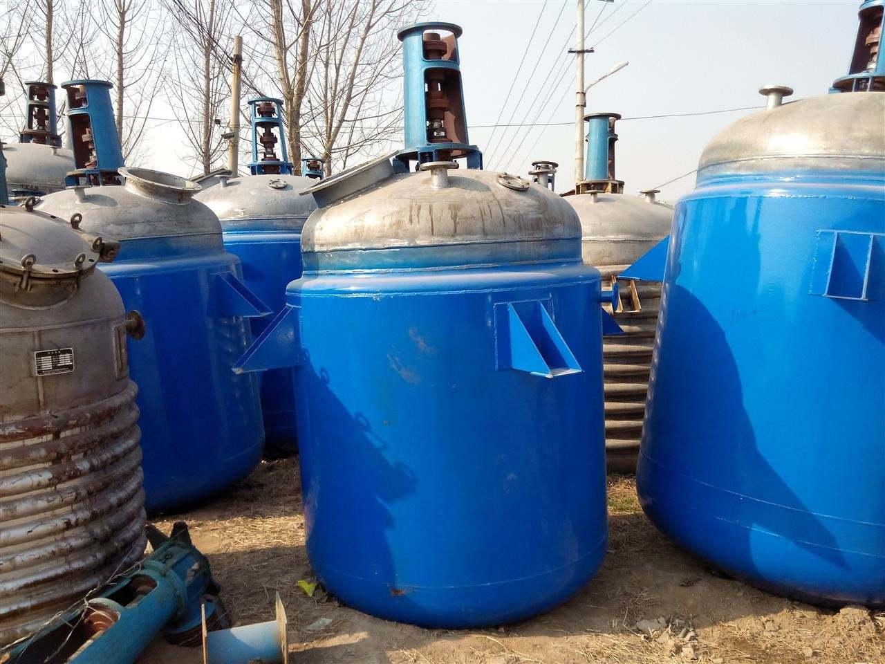 专业可靠蒸汽加热反应釜 PP料搅拌反 应 釜