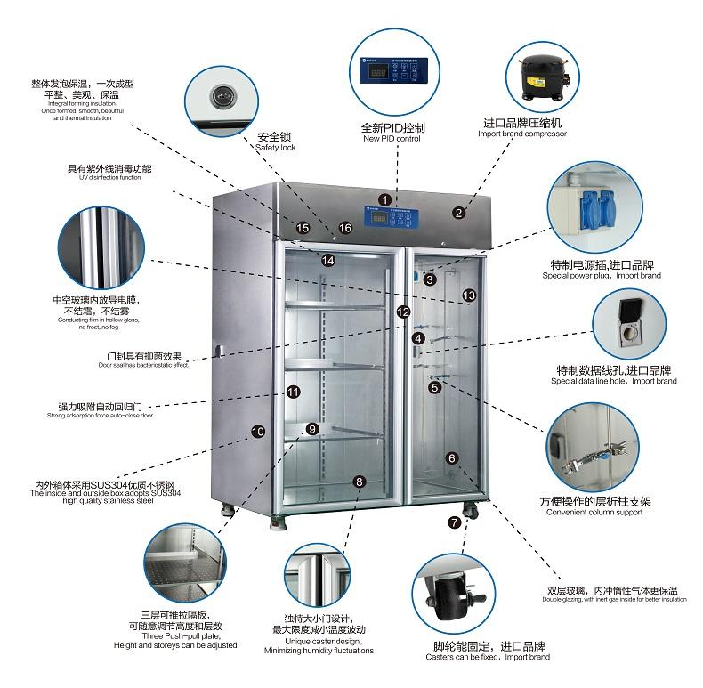 層析實驗冷柜廠家 專業儀器生產公司上海知信