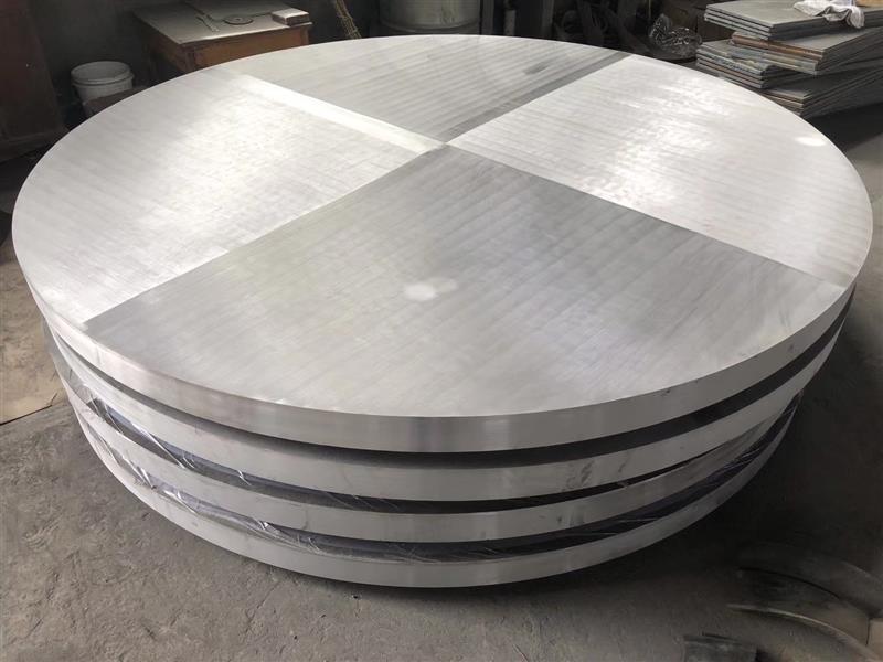 钛钢复合管板