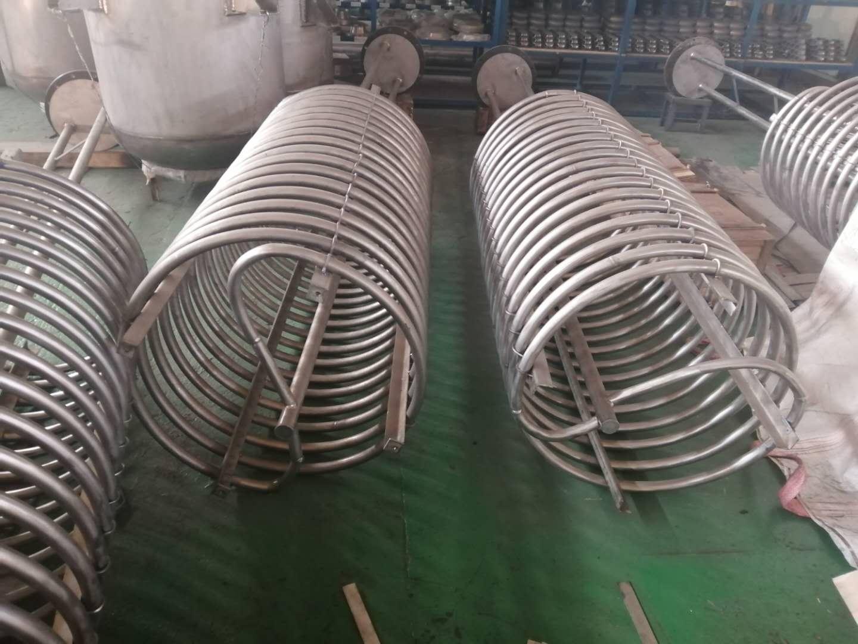 专业生产销售钛盘管