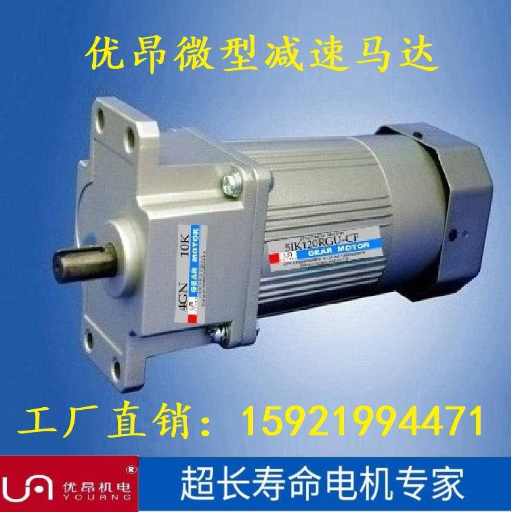 5IK40RGN-C全自动锡渣分离机用40W交流调速电机 单相220V质保2年
