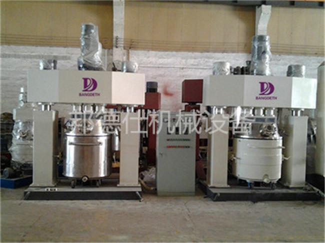 供应强力分散机 硅酮玻璃胶生产设备