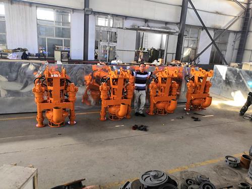 山东厂家批发,挖机泥沙泵,液压耐磨采砂泵