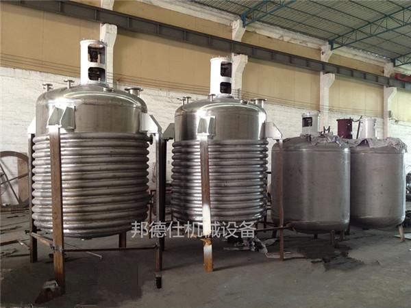 供应外盘管反应釜 压敏胶生产设备