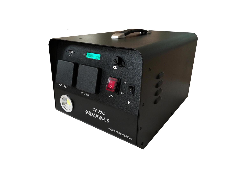 青岛国瑞厂家直销 GR-7010型多功能移动电源 多功能便携式逆变移动电源