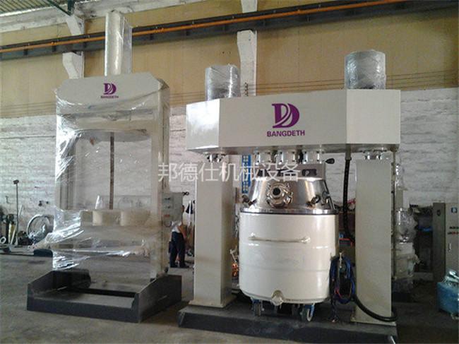 供应江西强力分散机 硅酮密封胶生产设备