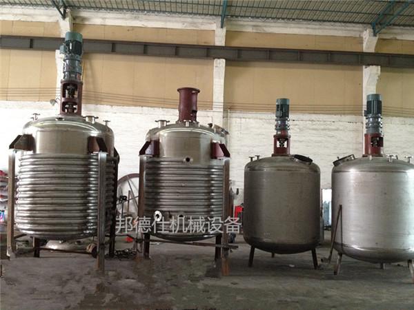 供应湖南外盘管反应釜 糯米胶生产设备