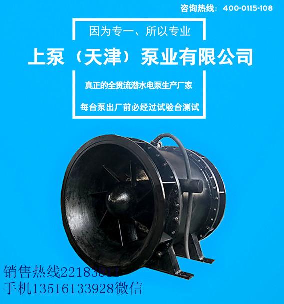 排涝叶片全贯流潜水电泵