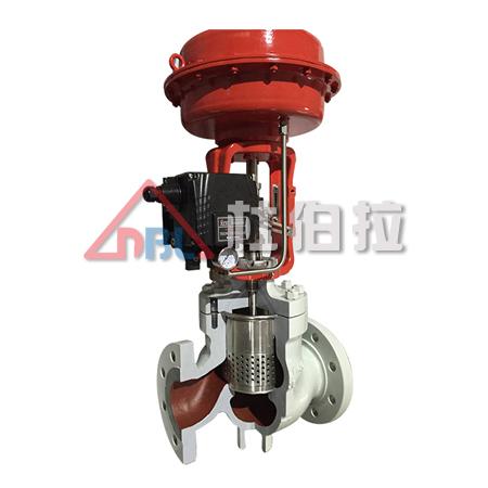 铸钢 不锈钢气动调节阀 气动低噪音笼式调节阀 气动单座调节阀