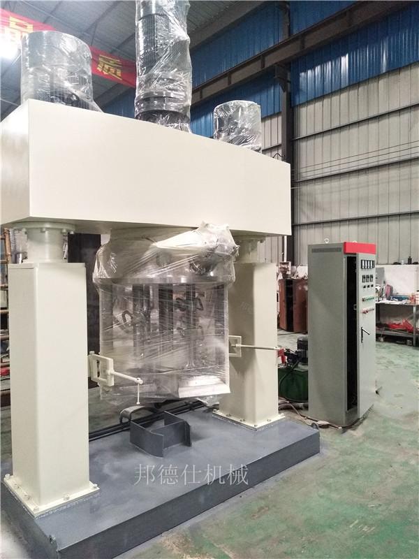 供应600L强力分散机 中性玻璃胶生产设备