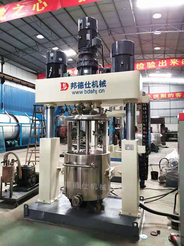 供应300L强力分散机 美缝剂生产设备
