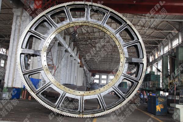 球磨机配件大齿轮加工厂铸钢材质