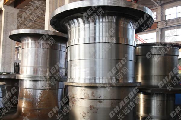 球磨机中空轴 长城铸钢加工生产 质量有保证