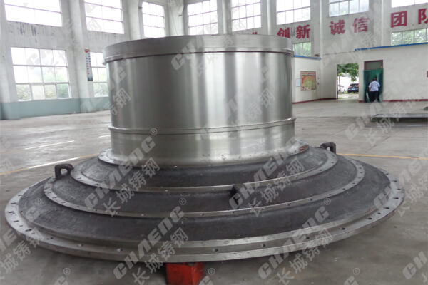 球磨机端盖中空轴大型铸造厂可配套加工