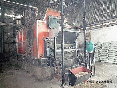 燃煤锅炉改造生物质出力不下降