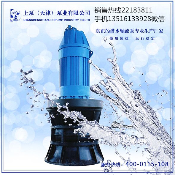 自动化潜水轴流泵