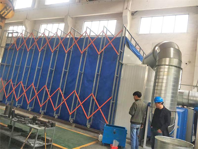 上海喷漆房 环保喷漆房 伸缩环保喷漆房