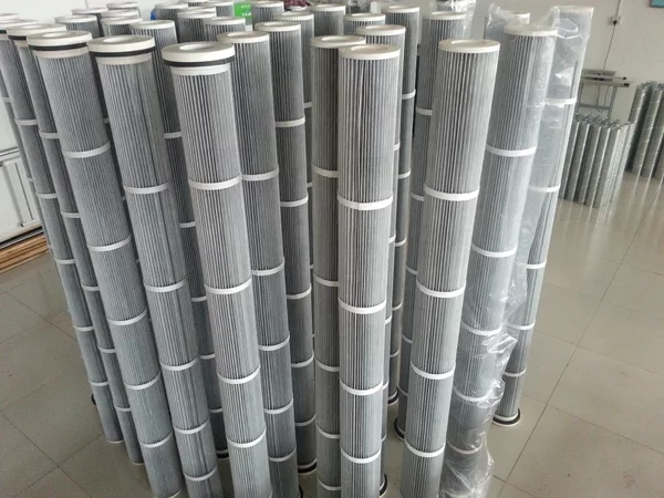 2米防靜電除塵濾芯 生產3266噴砂機除塵濾芯 拋丸機除塵濾芯
