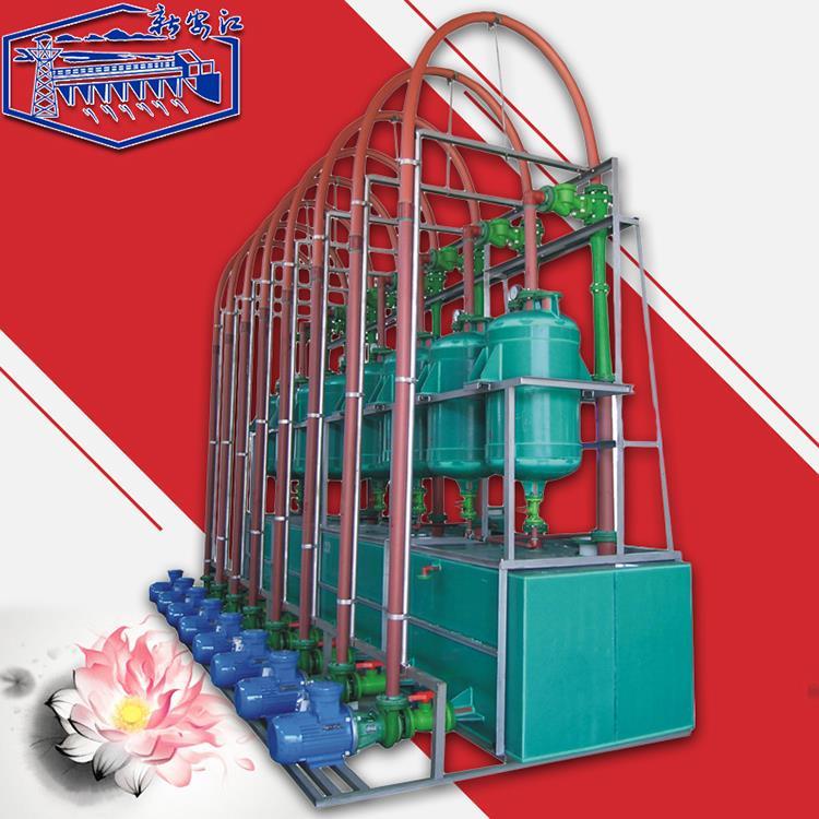 新安江全塑立式RPP水喷射真空机组 耐腐化工环保真空泵 水喷射真空泵 RPP水喷射成套真空机组
