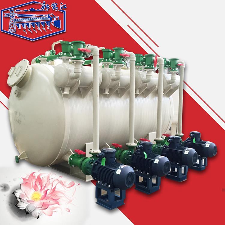 新安江RPP水喷射真空泵 改进型水喷射成套真空机组 环保型单级单吸真空机组 聚丙烯耐腐蚀真空机组