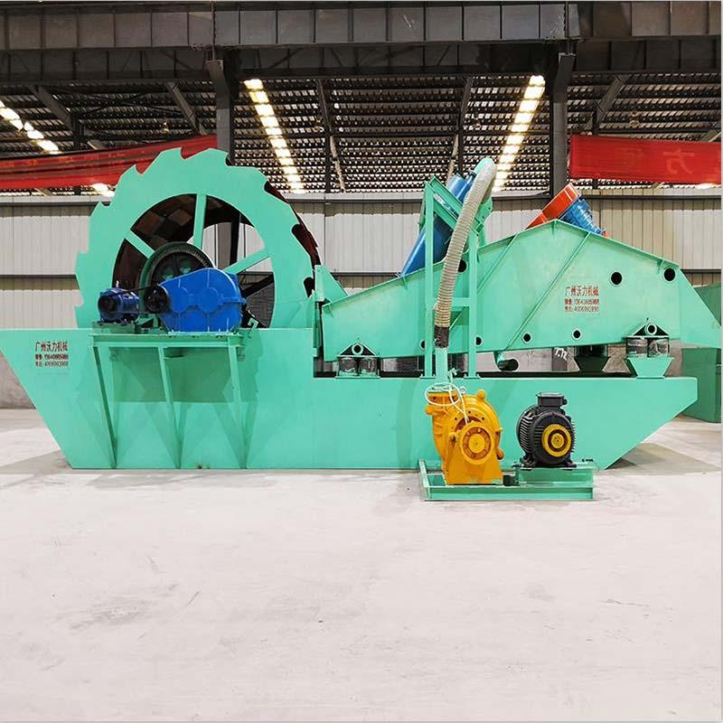 沃力機械廠家 廣西欽州洗砂機洗出來的砂干凈度很重要