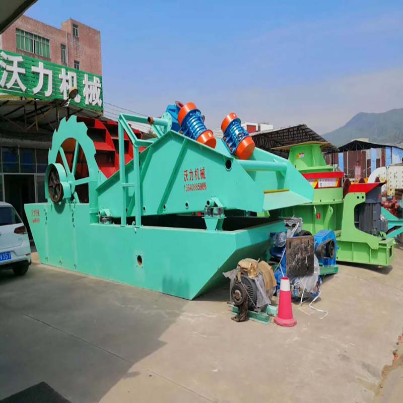 沃力機械廠家 廣西欽州洗砂機設備的型號和種類