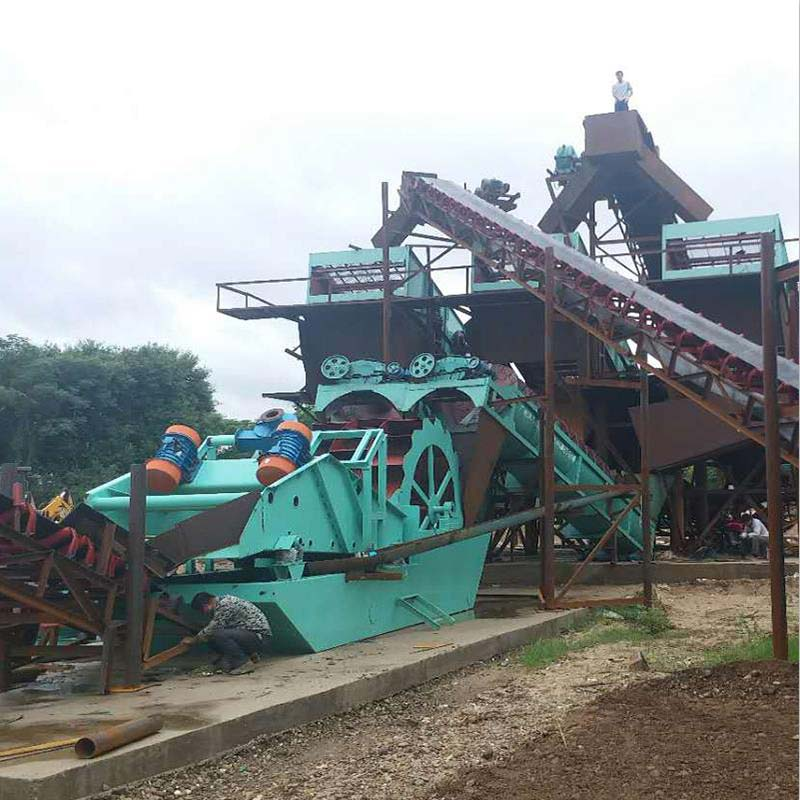 沃力機械 投資環保廣西欽州洗砂機是個好的選擇