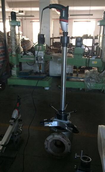 抚州电厂专用电动阀门研磨机,阀门在线研磨工具