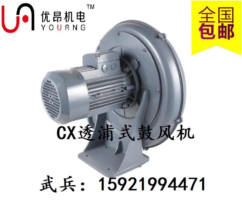 CX-75S(0.4Kw)中压透浦式鼓风机