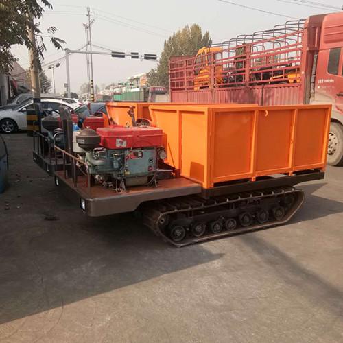 双缸工程车 矿山履带车 履带运输车