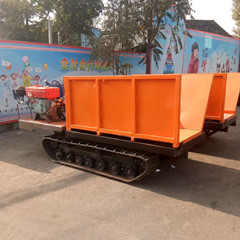 履带式打桩运输车 履带水井钻机车