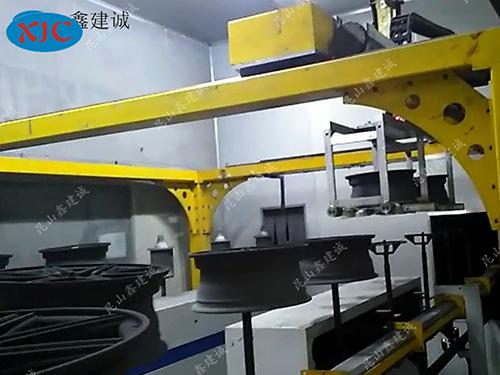 鑫建誠汽車輪轂移栽設備