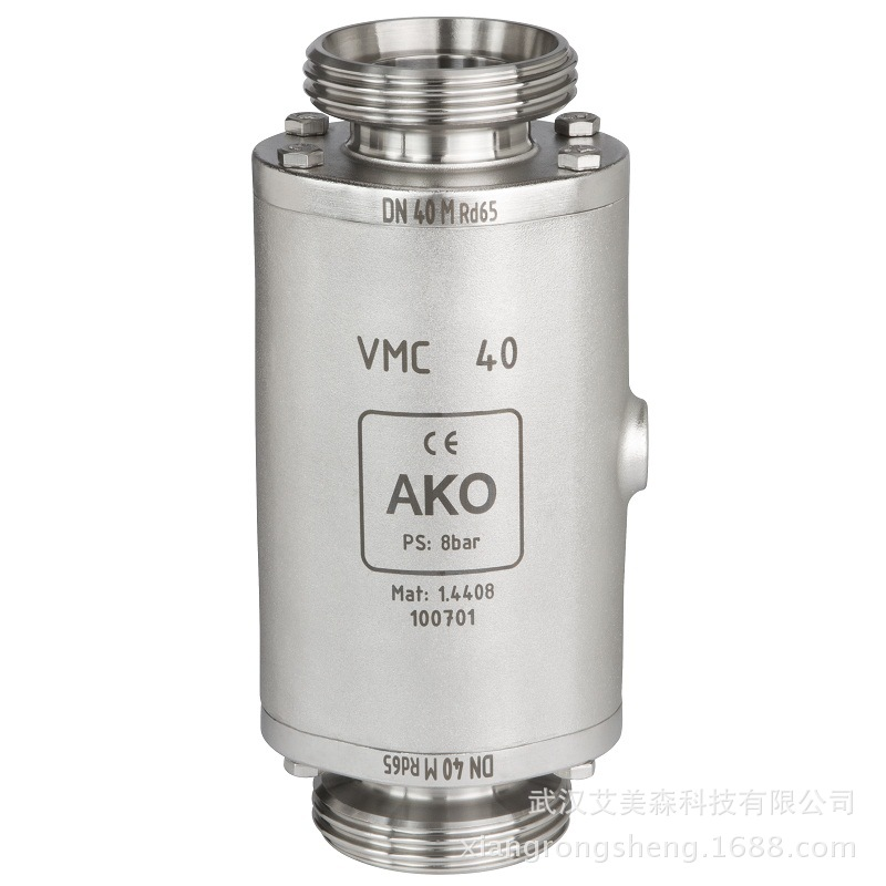 德國AKO  VMC氣動管夾閥-螺紋連接