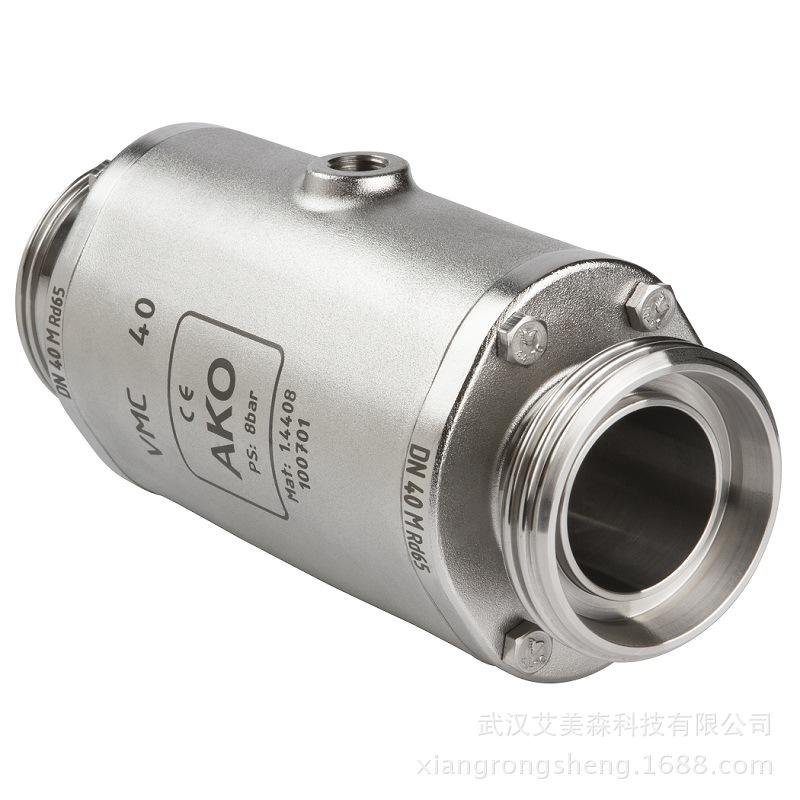 德國AKO  VMC氣動擠壓閥-螺紋連接