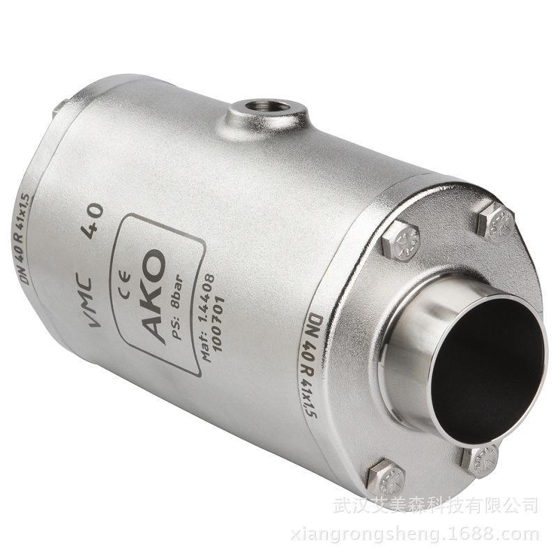 德國AKO  VMC氣動擠壓閥-端焊接