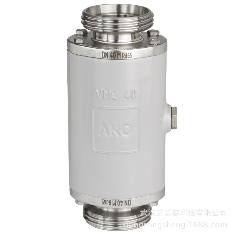 德国AKO  VMC气动管囊阀-螺纹联络