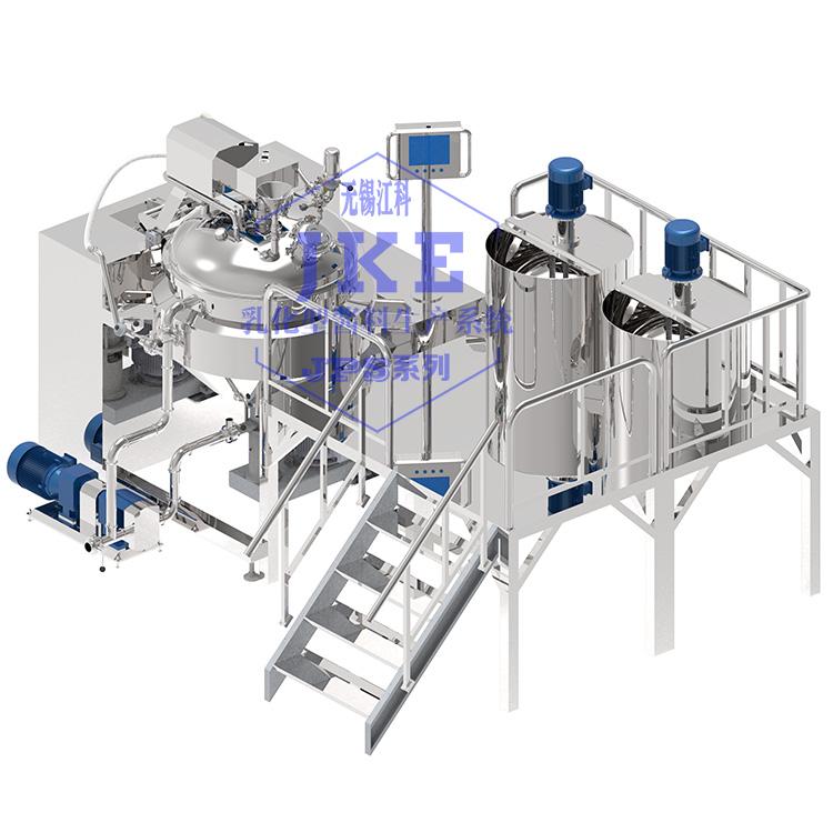 在線式蛋黃醬生產設備乳化機