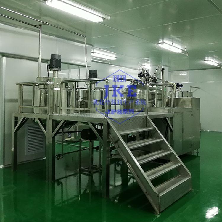 耐烤型卡仕達西點醬均質機生產設備