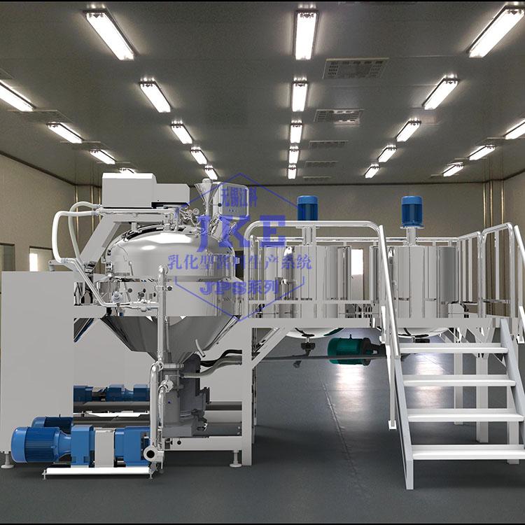 循環均質型卡仕達醬乳化機
